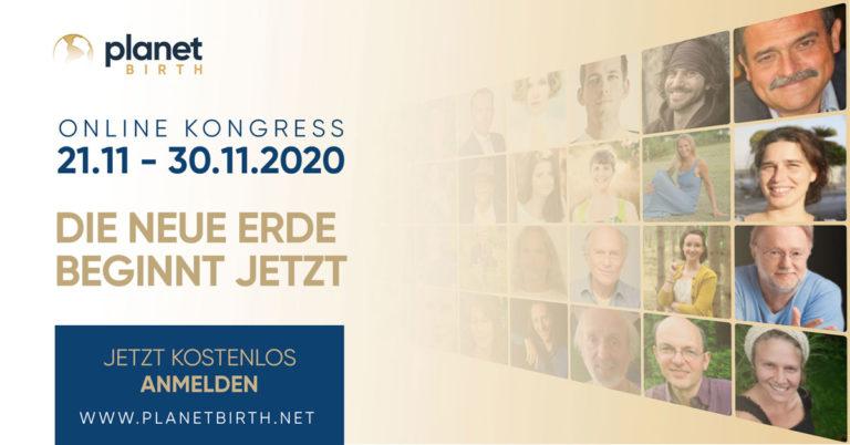 Einladung zum planetbirth Online Kongress